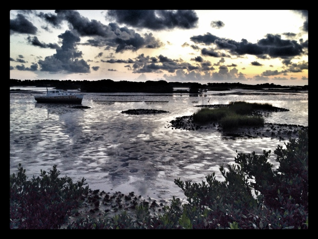 Cedar Key sunset 7-24-14